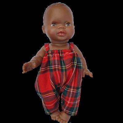 Salopette pour poupée