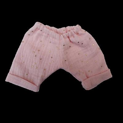 Pantalon simple gaze rose