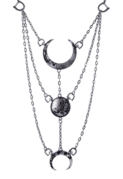 silver moon phases