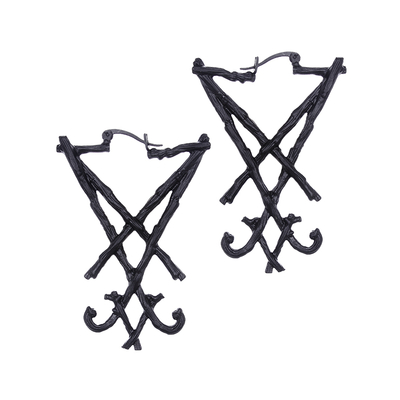 Boucles Lucifer Sigil Black