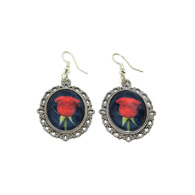 Boucles Rose Rouge