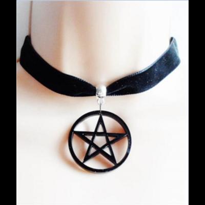 Tour de cou Pentagramme