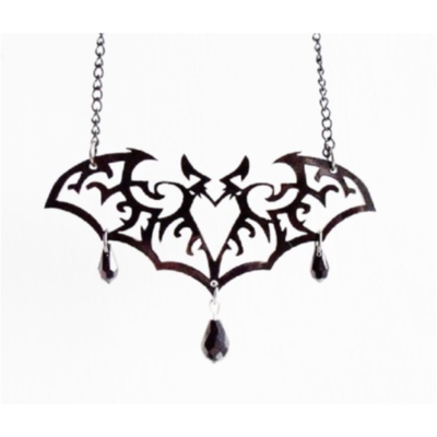 Collier Ornate Bat