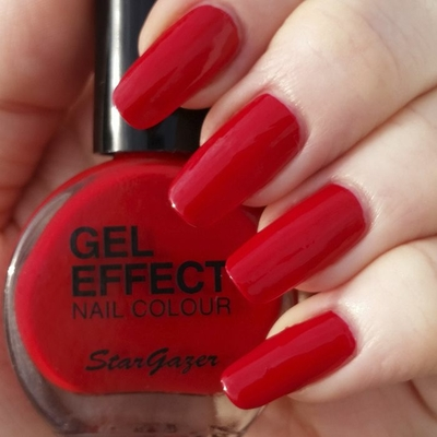 Vernis à Ongles effet Gel Rouge Pin-Up