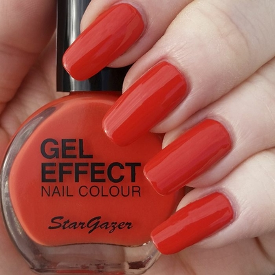 Vernis à Ongles effet Gel Orange