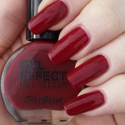Vernis à Ongles effet Gel Rouge Vampire