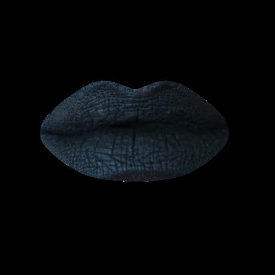 Rouge à lèvres liquide noir - Black Cat