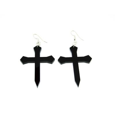 Boucles Croix Gothiques