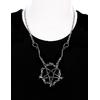 Snake pentagram pendant2