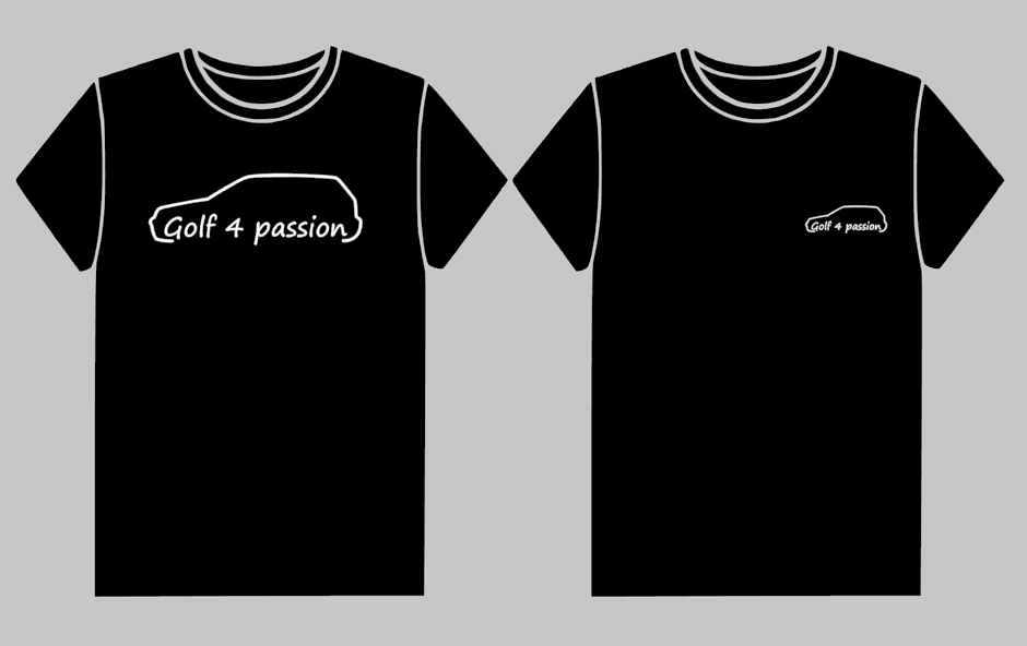 T-shirt Golf 4 passion