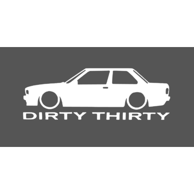 bmw dirty thirty e30