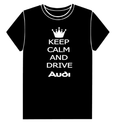 T-shirt KEEP CALM AND DRIVE