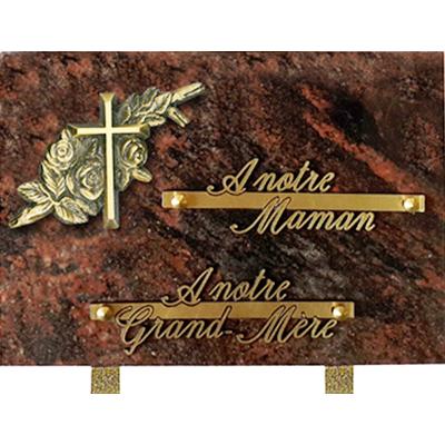 Plaque granit 17x25 Judiana Aurora