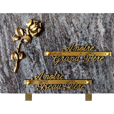 Plaque granit 17x25 Mas blue