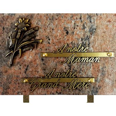 Plaque granit 17x25 Juparana