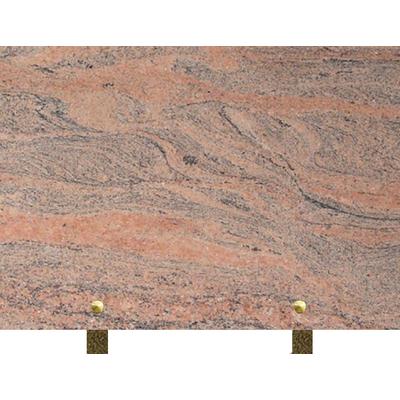 Plaque granit à graver Juparana
