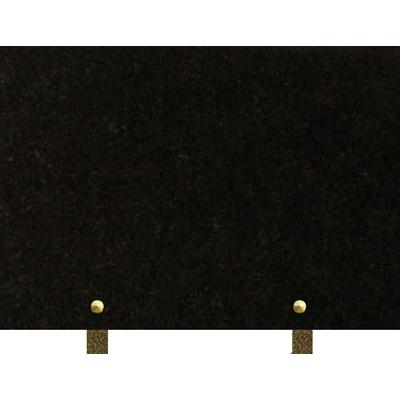 Plaque granit à graver Noir fin
