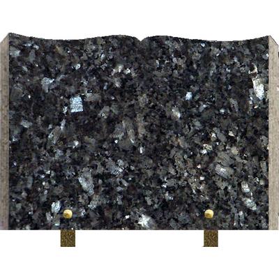 Plaque granit livre à graver Labrador