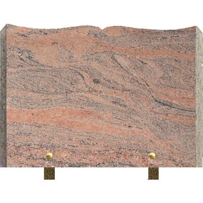 Plaque granit livre à graver Juparana