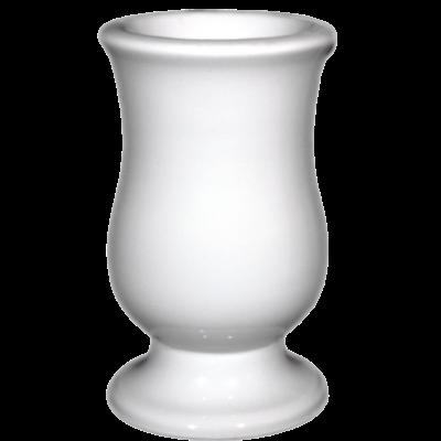 Vase céramique tulipe blanc