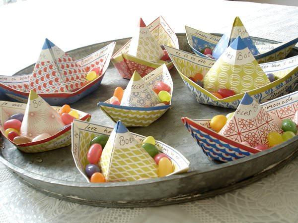 bateaux à plier