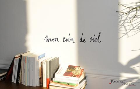 avis et commentaires de sticker peitic wall mon coin de ciel mel et kio. Black Bedroom Furniture Sets. Home Design Ideas