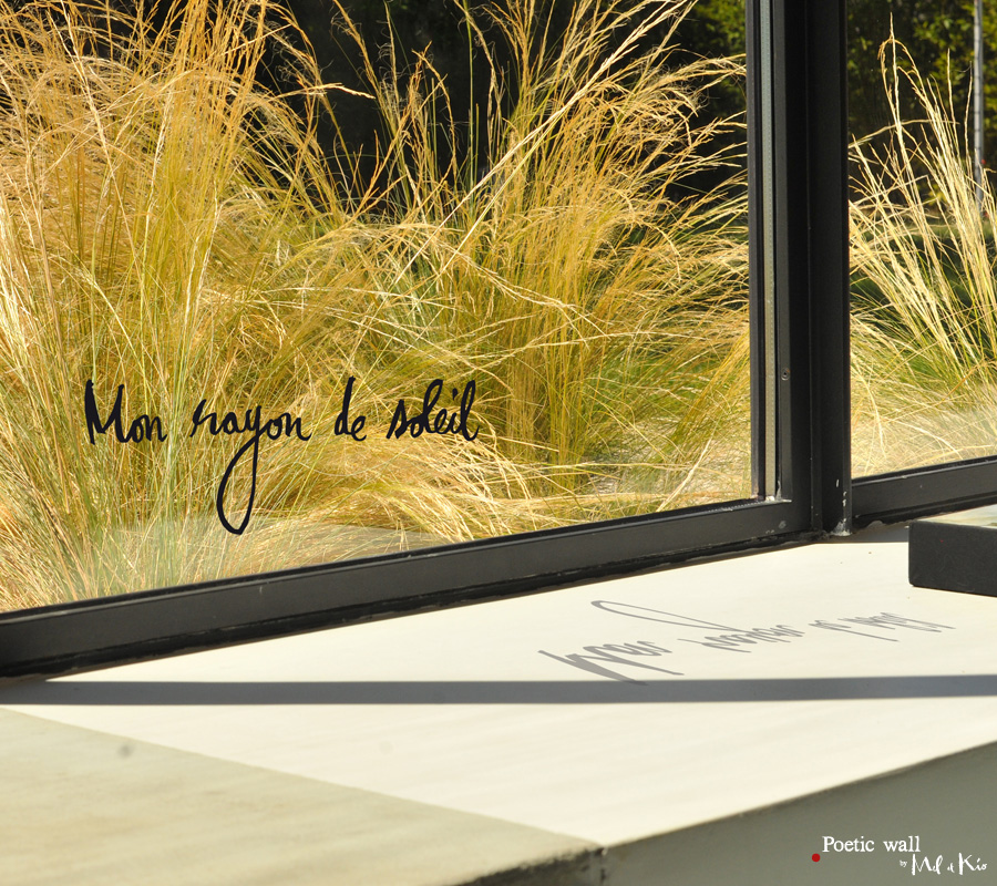 mon rayon de soleil sticker mural. Black Bedroom Furniture Sets. Home Design Ideas