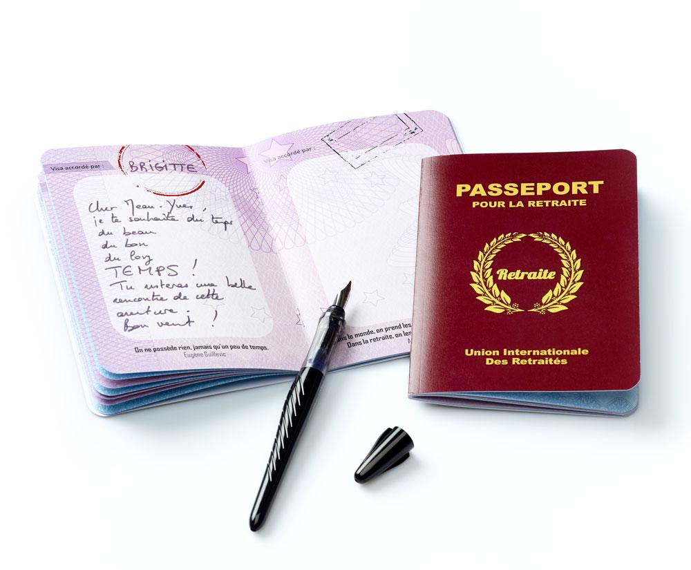 Livre Dor Passeport Pour La Retraite