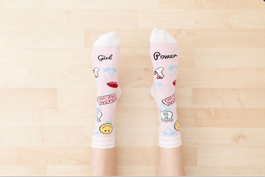 chaussettes-girl-power
