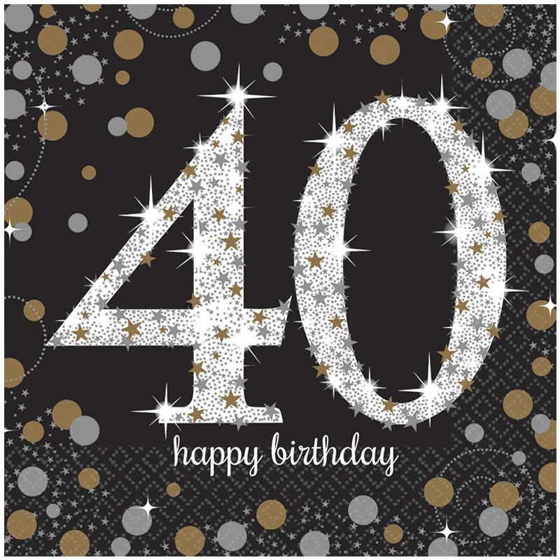 40 e anniversaire de naissance