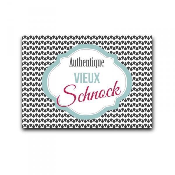 Carte Authentique Vieux Schnock