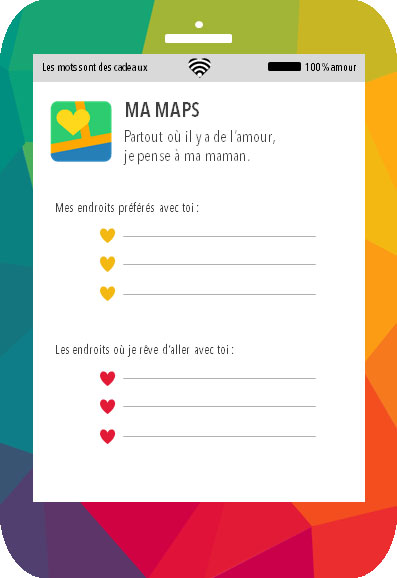 Love-phone-maman-maps