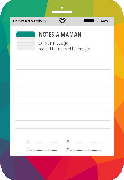 Love-phone-maman-notes