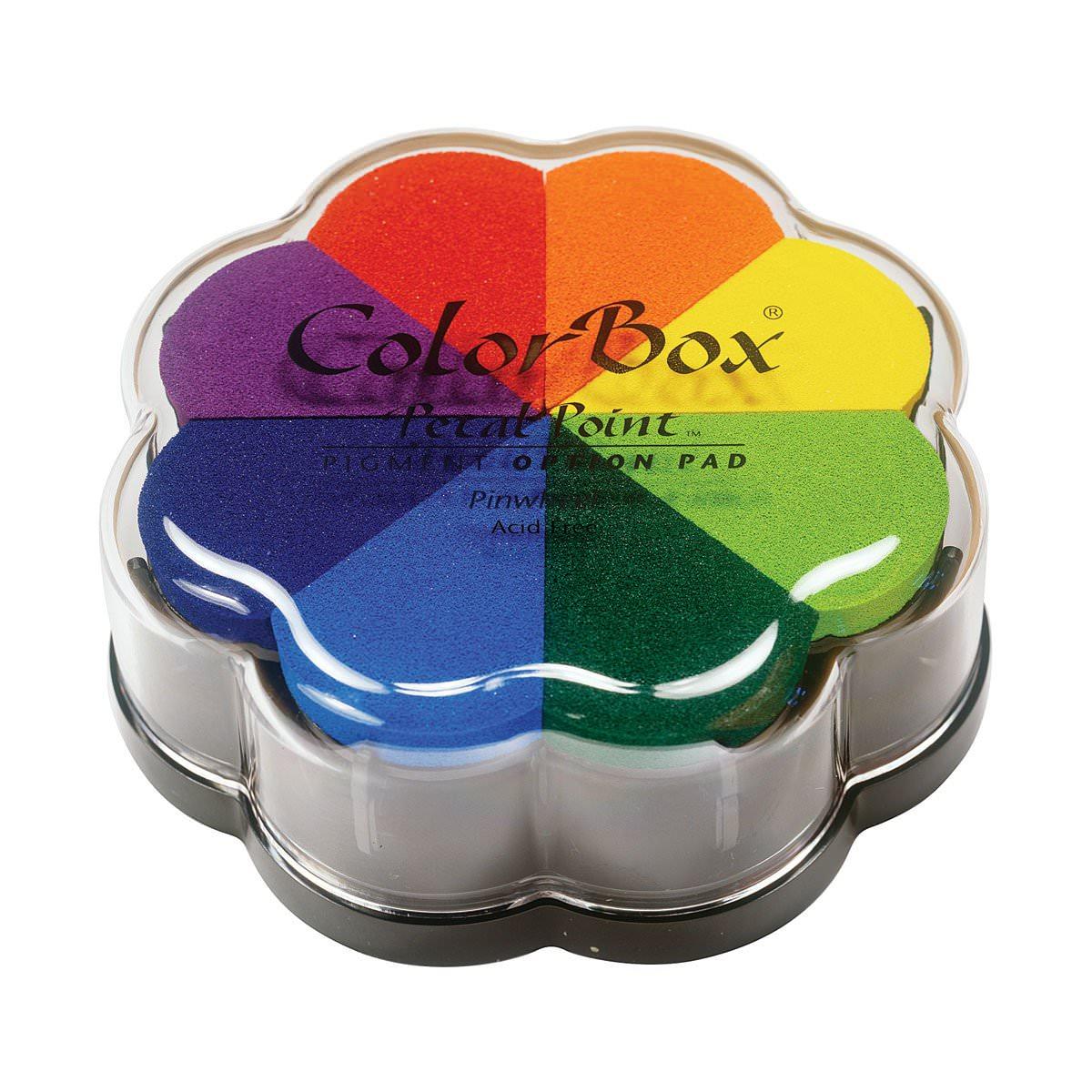 Encreur 8 couleurs pour réaliser des empreintes
