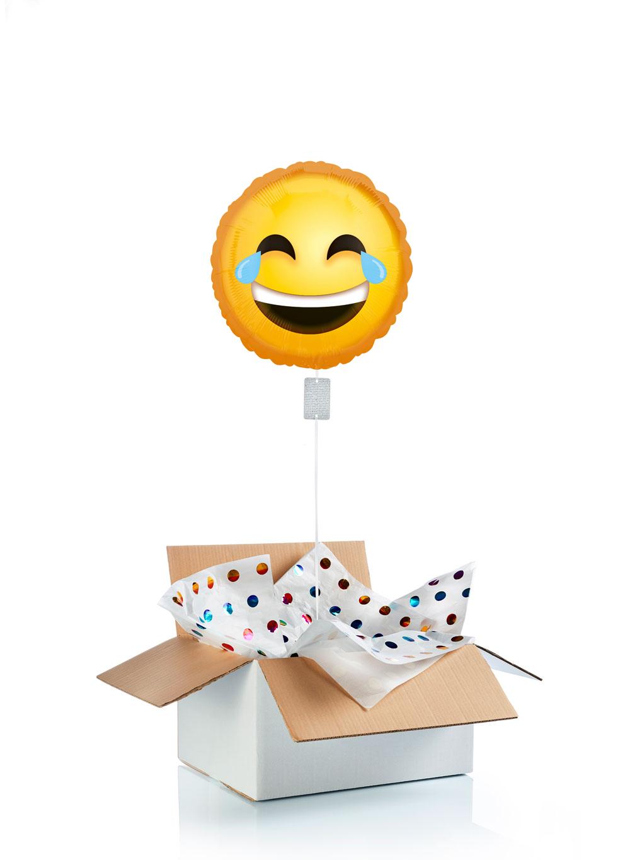 Ballon-helium-emoji-rire