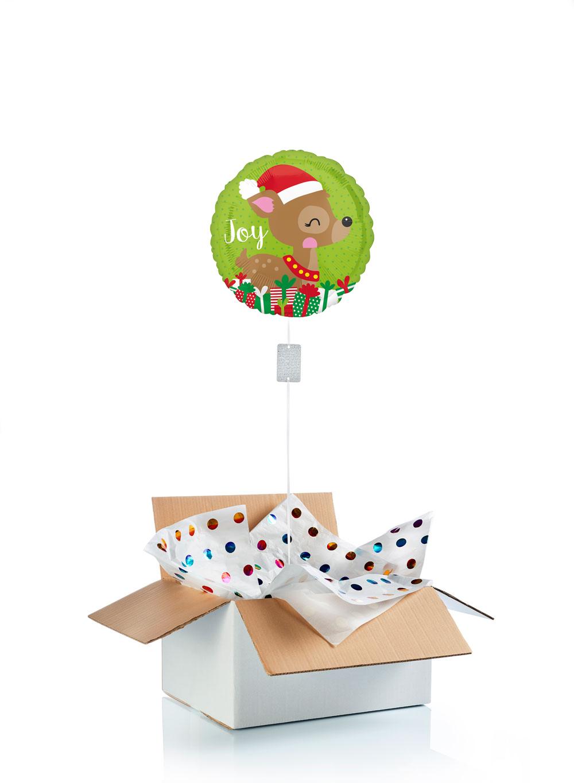 Ballon-helium-renne-noel