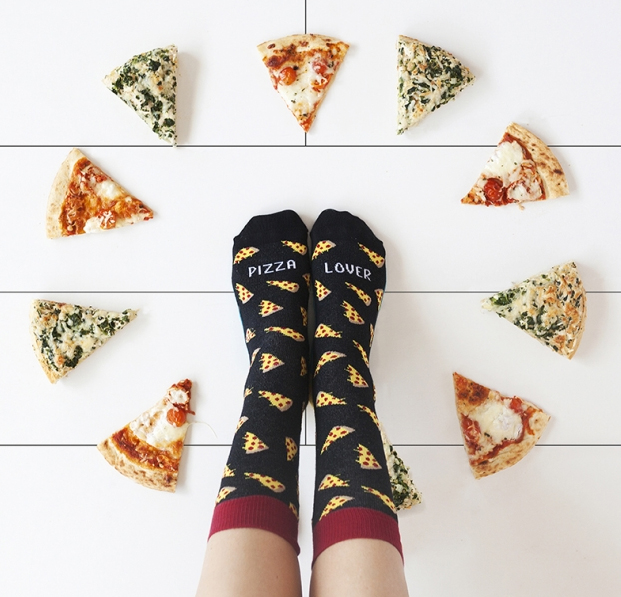 pizza-lover-chaussette