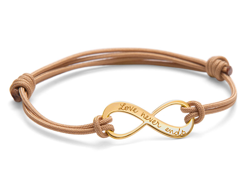 bracelet femme personnalis amour infini. Black Bedroom Furniture Sets. Home Design Ideas