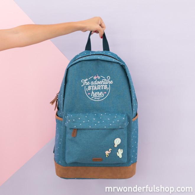 sac bleu mr wonderfull - Copie