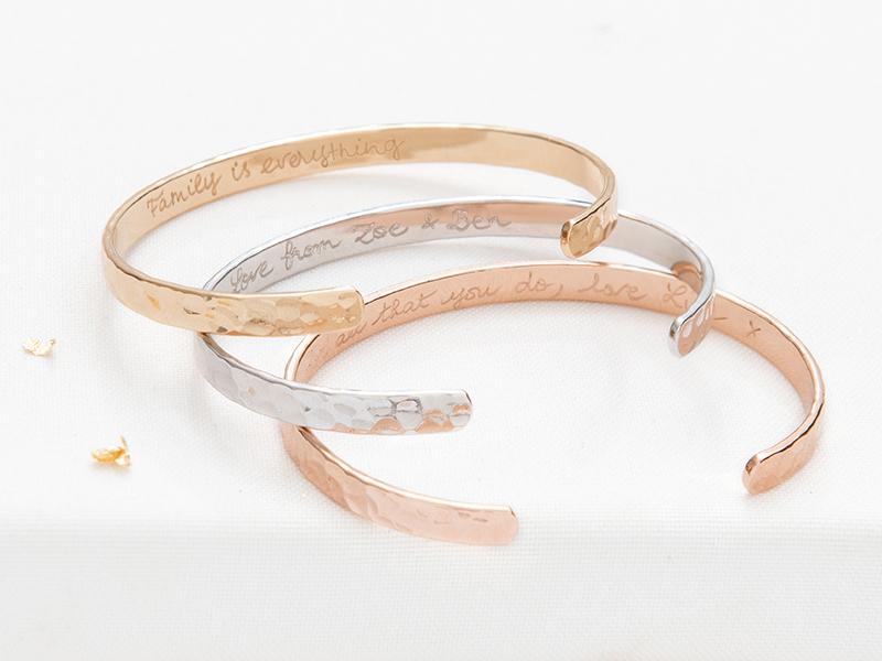 bracelets jonc ouvert