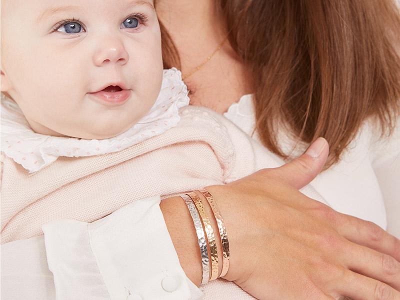 bracelet-martelé