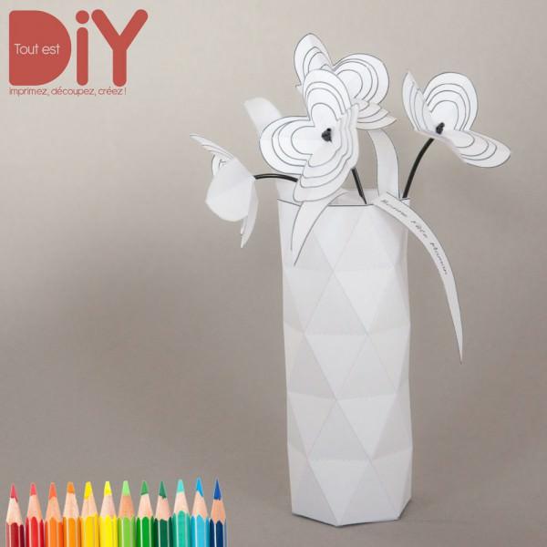 atelier do it yourself pour enfants partir de 6 ans bouquet de fleurs en papier pour la. Black Bedroom Furniture Sets. Home Design Ideas