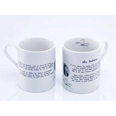 """Mug Rimbaud """"Ma Bohème"""""""