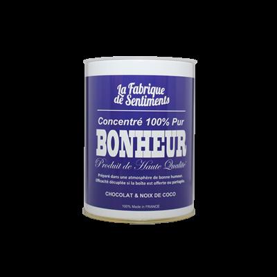 """Boite de chocolats """"100% pur Bonheur"""""""