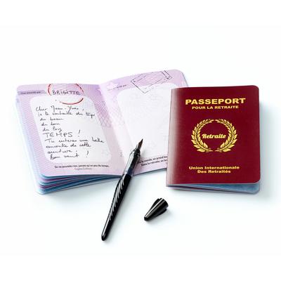 """Livre d'or """"passeport pour la retraite"""""""