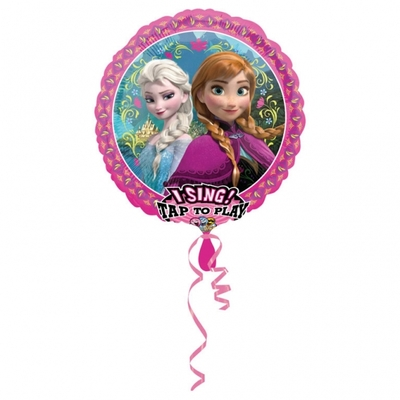 "Ballon géant qui chante ""Let it go"" 'la Reine des Neiges"""