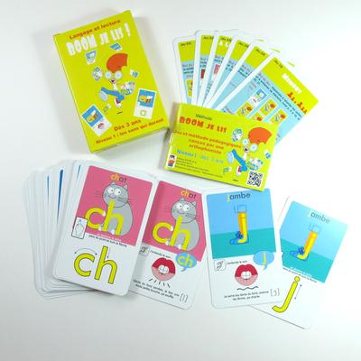 BOOM Je lis - jeu-apprentissage multi-sensoriel de la lecture - Niveau 1