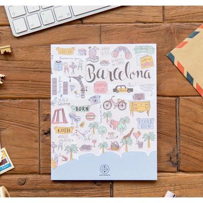 """Cahier """"Lo que me enamora de Barcelona"""""""