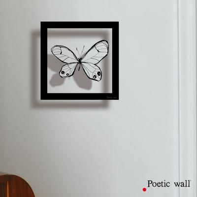"Sticker cadre ""Papillon"""