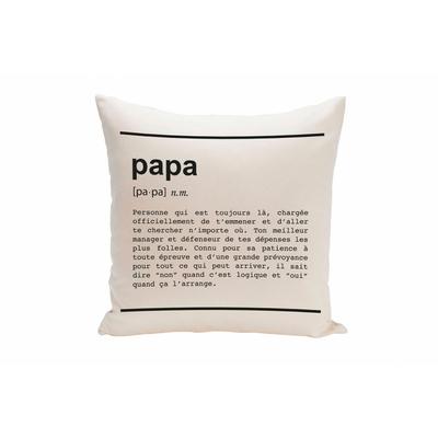 """Housse de coussin """"Papa definition"""""""
